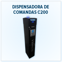 Dispensadora de Comandas C200