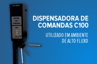 Dispensadora de Comandas C100